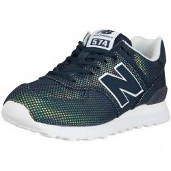 New Balance Damen Sneaker 574 Textil/Synthetik galaxy dunkelblau