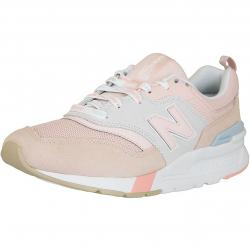 New Balance Damen 997H Leather/PU/Textile rosa/grau