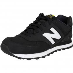 New Balance Sneaker ML574 D Textil/Synthetik schwarz