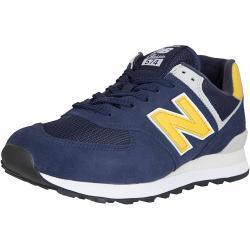 New Balance Sneaker 574 Leder/Mesh/Synthetik dunkelblau