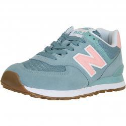 New Balance Damen Sneaker 574 Leder/Mesh/Synthetik türkis