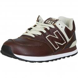 New Balance Sneaker 574 Leder/Synthetik braun