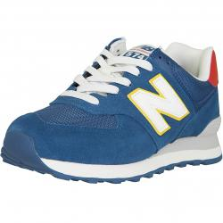 New Balance Sneaker 574 Leder/Textil blau