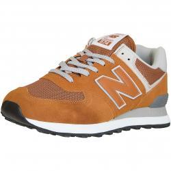 New Balance Sneaker 574 Leder/Textil/PU hellbraun