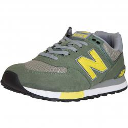New Balance Sneaker 574 Leather/Textile/PU grün