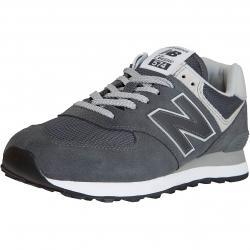 New Balance Sneaker 574 Leder/Textil/PU dunkelgrau
