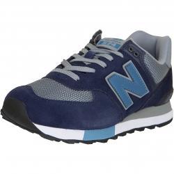 New Balance Sneaker 574 PU Wildleder/Textil blau/grau