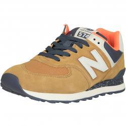 New Balance Sneaker 574 Leder/Textil/Synthetik braun