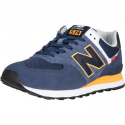 New Balance NB 574 Sneaker Schuhe navy/orange
