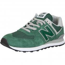 New Balance Sneaker 574 Wildleder/Mesh/Synthetik dunkelgrün