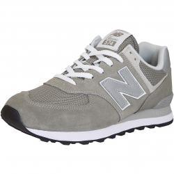 New Balance Sneaker 574 Wildleder/Mesh/Synthetik grau