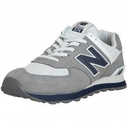 New Balance Sneaker 574 Wildleder/Textil grau