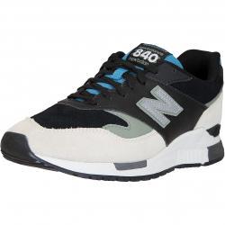 New Balance Sneaker 840 Leder/Textil weiß/schwarz/blau