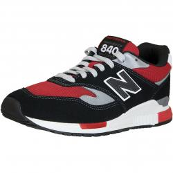 New Balance Sneaker 840 Leder/Textil/PU rot/schwarz