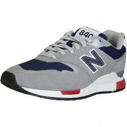 New Balance Sneaker 840 Leder/Textil/PU grau/dunkelblau
