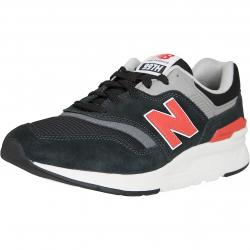 New Balance Sneaker 997H Leather/Textile/PU schwarz/rot