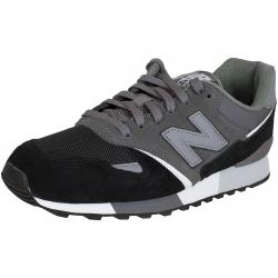 New Balance Sneaker U446 D Leather/Textile/Synthetik grau/schwarz