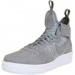 Nike Sneaker Air Force 1 UF Mid Premium grau/weiß