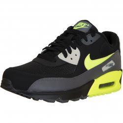 Nike Sneaker Air Max 90 Essential grau/schwarz/gelb