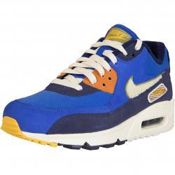 Nike Sneaker Air Max 90 Premium SE blau/beige/orange