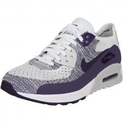Nike Damen Sneaker Air Max 90 Ultra 2.0 Flyknit weiß/lila