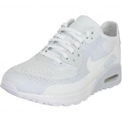 Nike Damen Sneaker Air Max 90 Ultra 2.0 Flyknit weiß/weiß