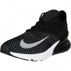 Nike Damen Sneaker Air Max 270 Flyknit schwarz/weiß