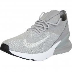 Nike Damen Sneaker Air Max 270 Flyknit grau/weiß