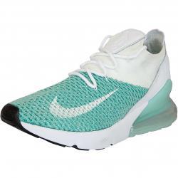 Nike Damen Sneaker Air Max 270 Flyknit türkis/weiß