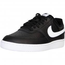 Nike Court Vision Low Damen Sneaker schwarz
