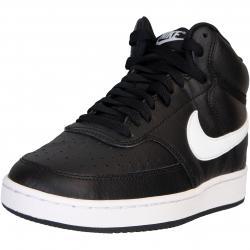 Nike Court Vision Mid Damen Sneaker schwarz