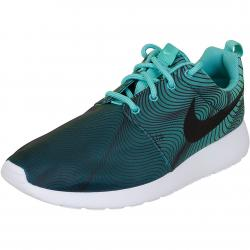 Nike Damen Sneaker Roshe One Print teal/grün