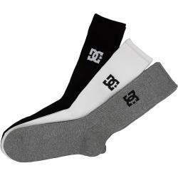 DC Shoes Socken Crew 3er schwarz/weiß/grau
