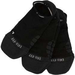 Nike Damen Socken Dry Cushion No Show 3er schwarz/weiß