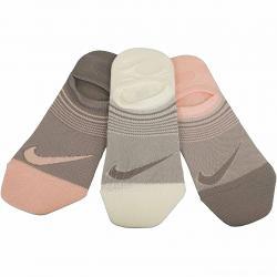 Nike Damen Socken Perf Lightweight Footie 3er mehrfarbig