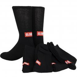Globe Socken Minibar 5er schwarz