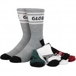 Globe Socken Schooler 5er mehrfarbig