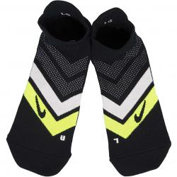 Nike Socken Dry Cushion Dynamic No-Show schwarz/volt