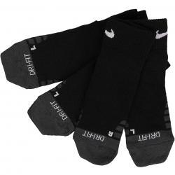 Nike Socken Dry Quarter Training 3er schwarz/weiß
