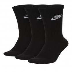 Nike Socken Essential Crew 3er schwarz/weiß