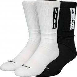 Nike Heritage Crew Socken 2er Pack weiß/schwarz