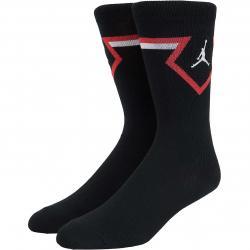 Nike Socken Jordan Legacy Diamond schwarz/weiß
