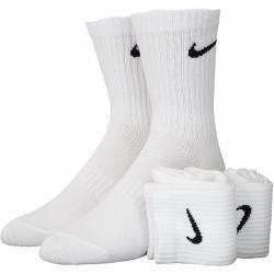 Nike Socken Lightweight Crew 3er weiß/schwarz
