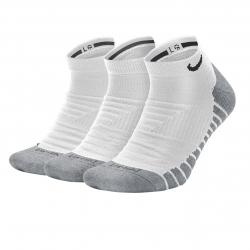Nike Max Cushion No-Show 3er Pack weiß