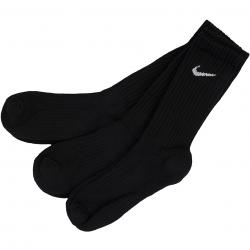 Nike Socken Value Cotton Crew (3er Pack) schwarz/weiß