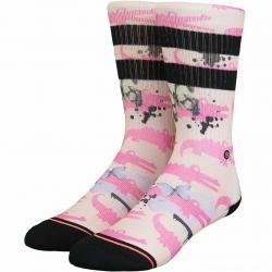 Stance Damen Socken Alligator Pie pink