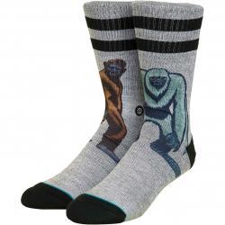 Stance Socken Big vs Yeti grau