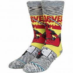 Stance Socken Deadpool Comic grau