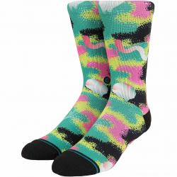 Stance Socken Dimensional Camo blau