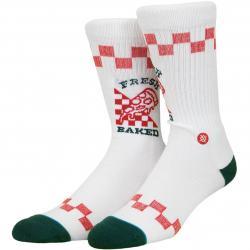 Stance Socken Fresh Baked weiß